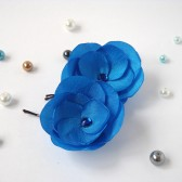 Ocean Blue Hair Pins