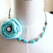 Tiffany blue necklace.