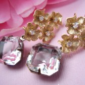 Destines Vintage Bridal Earrings