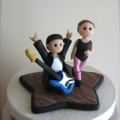 Custom Keepsake Wedding Cake Toppers