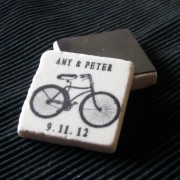 Antique Bike Wedding Favor