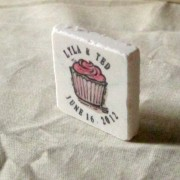 Cupcake Wedding Favor