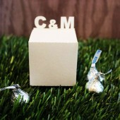 Custom Initials Favor Box