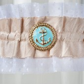 Wedding Garter Nautical 2
