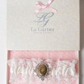 Wedding Garter Locket