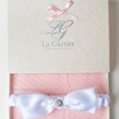 Wedding Garter White Bow