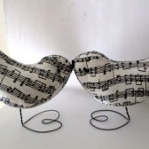 Music Birds Cake Topper
