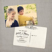 Julia - Vintage Save the Date Card
