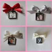 Square Photo Frame Charm