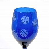 Winter Wedding Wine Glasses