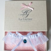 Wedding Garter Blue