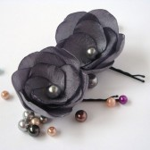 Gray Hair Pins or Shoe Clips
