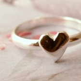 From the Heart Ring, Sterling Metalwork