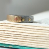 Mens Antique Barn Nail Ring