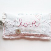 Love Wedding Pillow