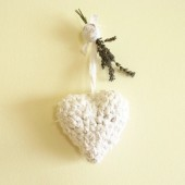 Crocheted Heart Ornament