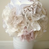 Rustic wedding bridal bouquet