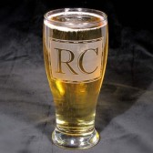 Groomsmen gift Beer glass, Personalized