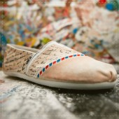Love Letter Air Mail Custom TOMS