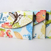 Floral Birds Clutch Pouch