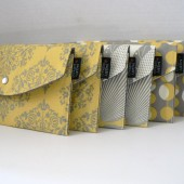 Amy butler collection yellow and grey