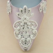 Versailles Garden Custom Wedding Shoes