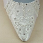 Antoinette Custom Wedding Shoes