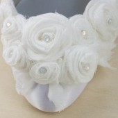 Snow White Custom Wedding Shoes