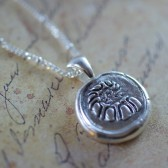 Fine Silver Nautilus Shell Necklace