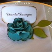 Place Card Holder - The Lady Flora