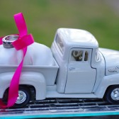 Ford Pickup Truck Ring Bearer Pillow