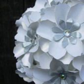 Pomander - handmade paper flowers by Dragonfly Expression