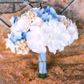 custom paper flower bouquet