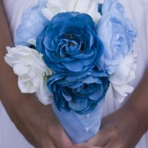 Ocean Pearl Wedding Bouquet