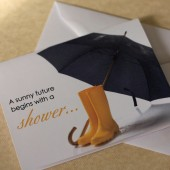 Sunny Future Bridal Shower Invitation