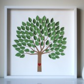 3D Wedding Tree Guest Book