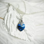 Something Blue Bridal Necklace
