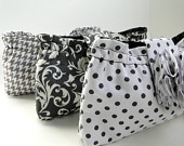 Set of 3 clutches