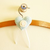 Bridal Dress Hanger Charm