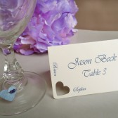 Wedding Place cards - Heart