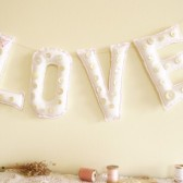 Love Sign Filled with Polyfil