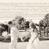 Canvas Photo Vow Wedding Art