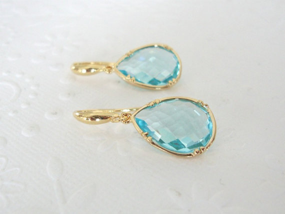 something blue earrings