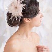 feather headpiece by tessa kim