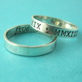 Personalized Wedding Band