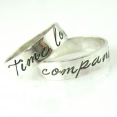 Doctor Who - Time Lord & Companion Wedding Bands