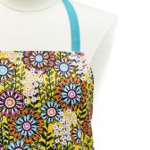 Yellow Floral Monogrammed Apron