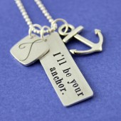 I'll Be Your Anchor Necklace