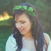 Ivy Goddess Headband, Bridal Crown