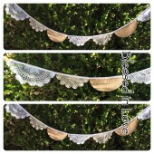 Lace Doily banner